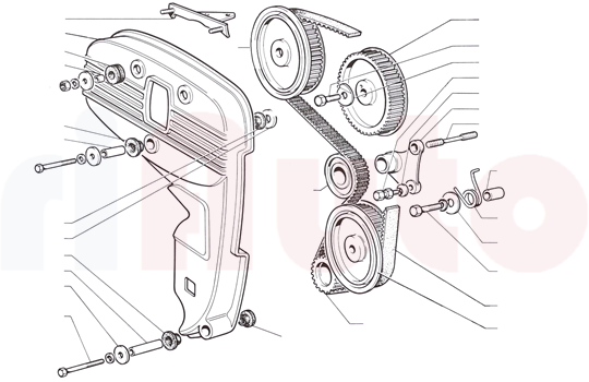 Fiat 124 Coupe Motorsteuerung - riAuto
