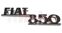 Schriftzug Fiat 850
