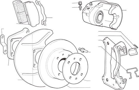 Fiat Brakes Diagram