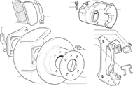 Picture for category Front Brakes