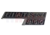 Schriftzug / Emblem Fiat 850 Sport