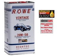 Picture of Engine Oil ROWE Vintage 20W-50 Slightly Blended