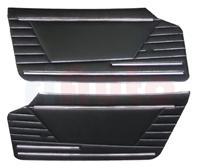 Türverkleidungen schwarz Fiat 850 Spider