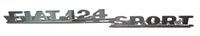 Schriftzug 124 Sport