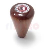 Schaltknauf Holz Fiat-Emblem
