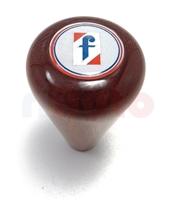 Schaltknauf Holz Pininfarina-Emblem
