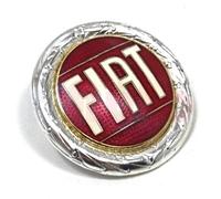 Fiat Emblem Silber