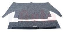 Teppichsatz Kofferraum grau