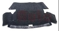 Teppichsatz Kofferraum Anthrazit