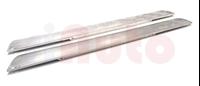 Satz Schwellerverkleidungen aussen Aluminium