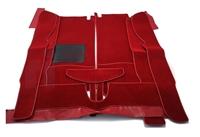 Teppichsatz rot