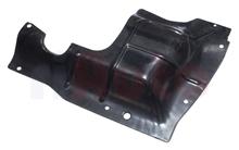 Schutzblech Motor Links