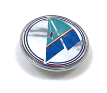 Emblem Azzurra Kofferraumdeckel